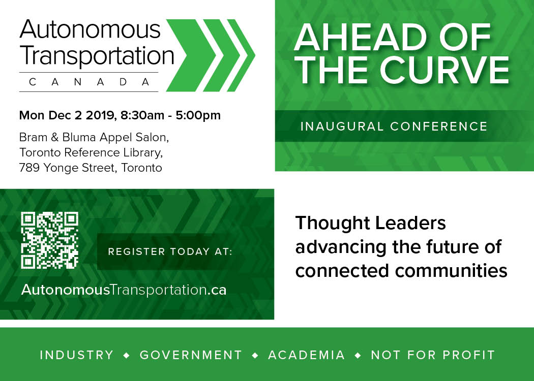 Inaugural Conference, Ahead of the Curve, Being Planned for Dec. 2, 2019 1